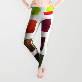 Brushstrokes 1za by Kathy Morton Stanion Leggings