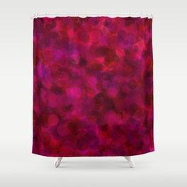 Purple Grape, Dragon Fruit, & Berry Dots Shower Curtain