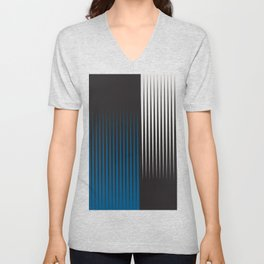 Abstract 17 Unisex V-Neck