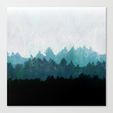 Woods Abstract  Canvas Print