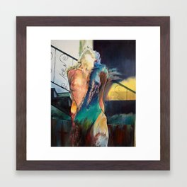 Whatever Sinks Your Ship Framed Art Print