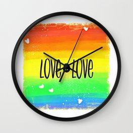Gay (9) Wall Clock
