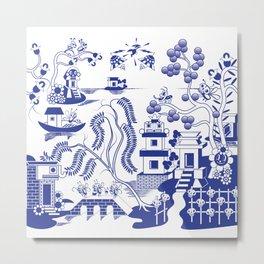 Goo Willow Metal Print