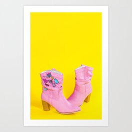 These Boots Were Made for Dancing Art Print