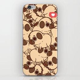 Puglie Heart iPhone Skin
