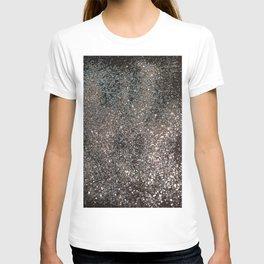 Silver Glitter #1 #decor #art #society6 T-shirt