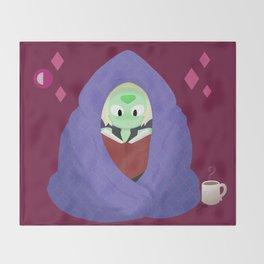 Peri in a blanket Throw Blanket