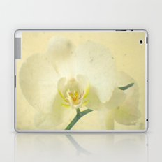White Orchid Laptop & iPad Skin