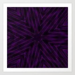 Eggplant Purple Art Print