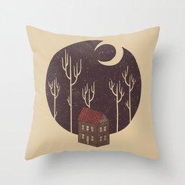 At Night Throw Pillow