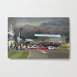 Mclaren F1 Lineup at Goodwood Members Meeting Metal Print
