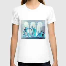 Oath of the Horatii (inverted), by Jacques-Louis David Et al. T-shirt