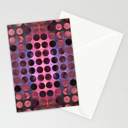 MELANGE of Purple-Coral-Rust no2 Stationery Cards