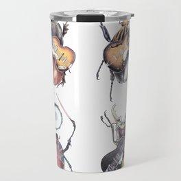 Meet the Beetles (white option) Travel Mug
