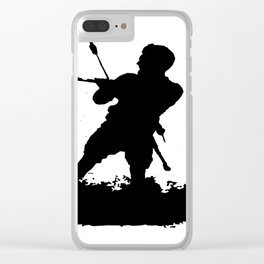 Board Out Of Your Mind Wakeboarding Silhouette Clear iPhone Case
