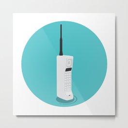 Motorola Dynatac Metal Print