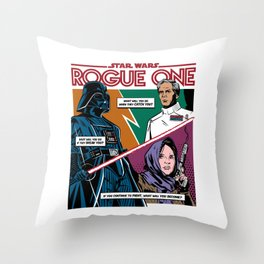 Rogue One Throw Pillow