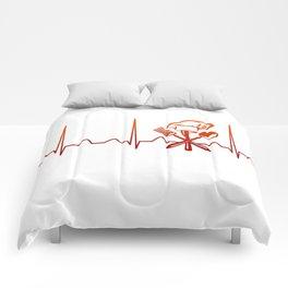 CHEF HEARTBEAT Comforters