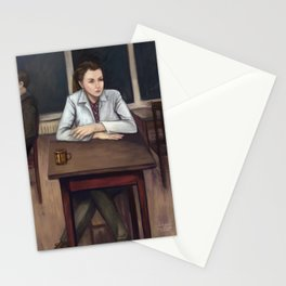 BBC Sherlock - Cafeteria Scene Stationery Cards