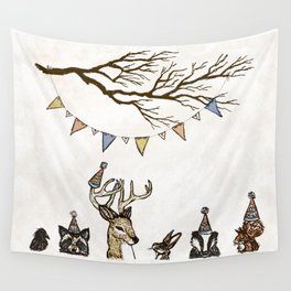 Party Animals Wall Tapestry