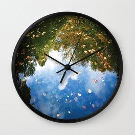 satisfying reflection Wall Clock