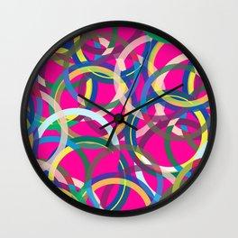 Spinning around I Wall Clock