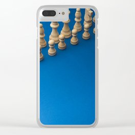 Chess9 Clear iPhone Case