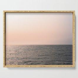 Ocean and Horizon Serving Tray
