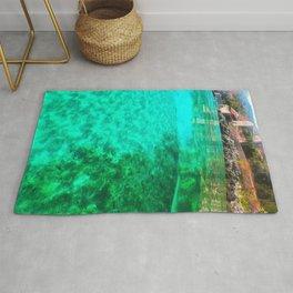 green waters  Rug