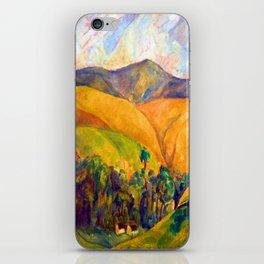Diego Rivera Landscape iPhone Skin