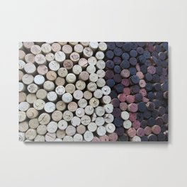 Too Many Corks Metal Print