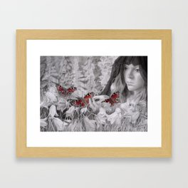 A Widow's Weeds Framed Art Print