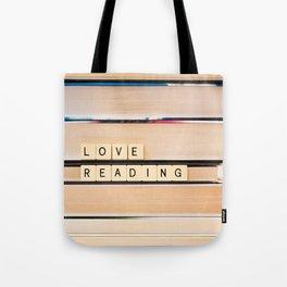 Love Reading Tote Bag