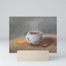 Coffee at noon Mini Art Print