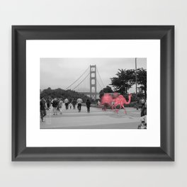 Unseen Monsters of San Francisco - Lil Waterayloo Framed Art Print