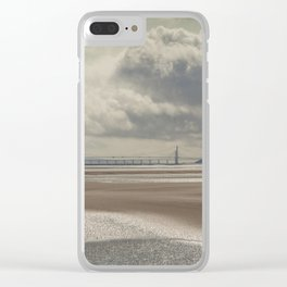 River Severn Sandbanks Clear iPhone Case