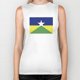 Rondonia flag Brazil Biker Tank