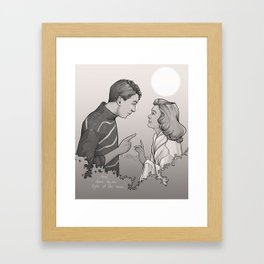 Buffalo Gals Framed Art Print