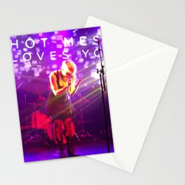 Hot Mess Loves You Stationery Cards