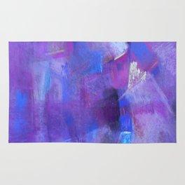 Purple light Rug