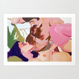 Reclining Art Print