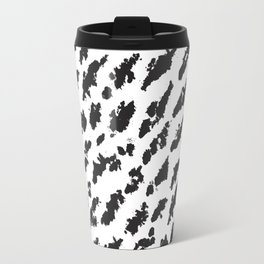 Small Black Brushes Travel Mug