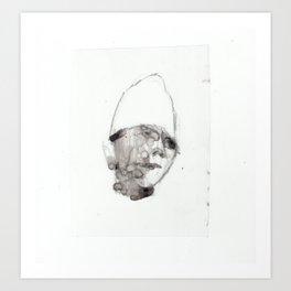 Bandaged Boy Art Print
