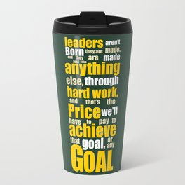 Lab No. 4 - Vince Lombardi Sport Inspirational Quotes Typography Poster Travel Mug