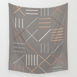 Geometric Shapes 06 Wall Tapestry