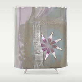 Turk In The Altogether Flowers  ID:16165-065856-95341 Shower Curtain