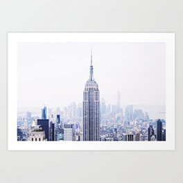 New York City - Manhattan Cityscape - Empire State Building Photograph Art Print