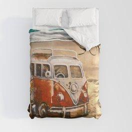 VeeDub Surf Dudes Comforters