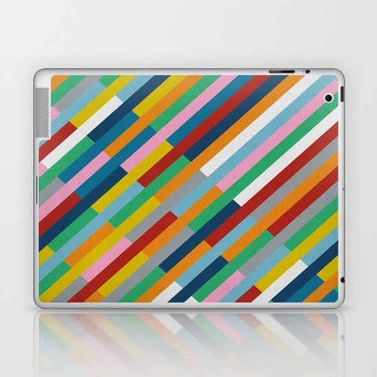Bricks Rotate 45 Laptop & iPad Skin