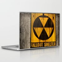 fallout Laptop & iPad Skins featuring Fallout Shelter by Julie Maxwell